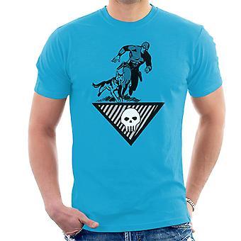 The Phantom & Wolf Running Men's T-Shirt