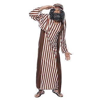 Mens Adulti Pastore Presepe Fancy Abito Costume
