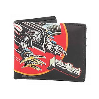 Judas Priest Chain Wallet Screaming For Vengeance Band Logo new Official Bifold