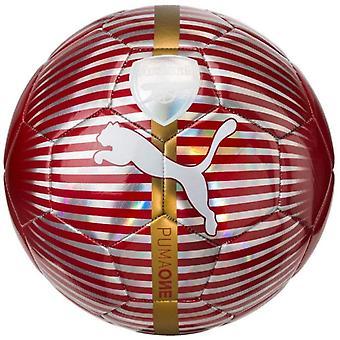 Puma Arsenal One Fußball Ball Rot/Weiß/Gold