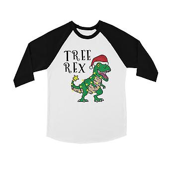Tree Rex BKWT Kids Baseball Shirt Funny Christmas Gift for Holiday