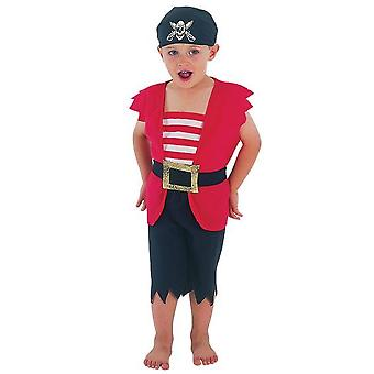 Pirate Boy Toddler, 90-104cm.