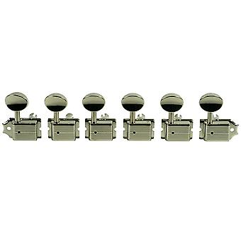 Kluson Traditional 6 In Line Tuners, No Kluson Logo Stamp