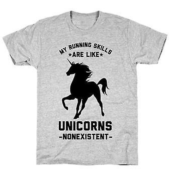 Mes compétences de course sont comme des licornes t-shirt