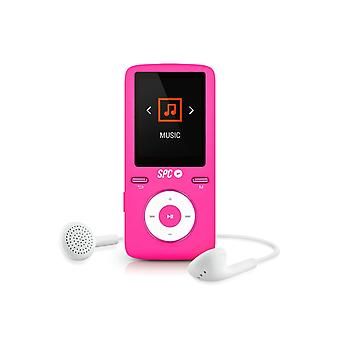 SPC Pure MP4 Player, Sound colore 2 lettore MP3/MP4 Rosado 8488P