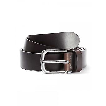 883 Police Orlando Leather Brown Belt