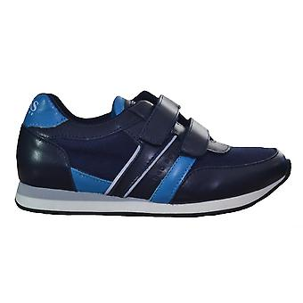 Hugo Boss Boys Hugo Boss Kids Navy Blue Velcro Trainers