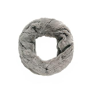 Intrigue Womens/Ladies Soft Faux Fur Scrunched Patterned Snood