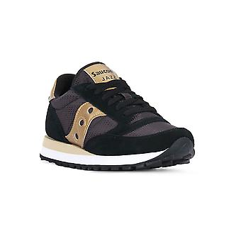 Saucony jazz black gold sneakers fashion