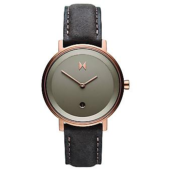 MVMT Signature II Women's Watch Wristwatch Leather D-MF02-RGPU