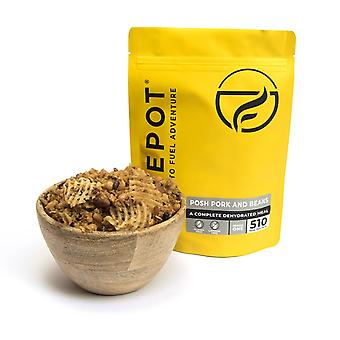 Firepot Posh Pork and Beans Dehydrated Camping Food 135g