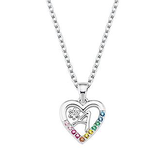 Princess Lillifee Kids Necklace Silver Letter Necklace A Girl 2027876