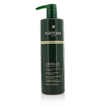 Rene Furterer absolue keratine restauratie rituele vernieuwing shampoo (extreem beschadigd broos haar)-600ml/20.2 oz