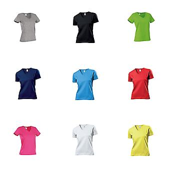 Stedman Womens/Ladies Classic V Neck Tee
