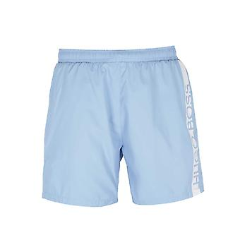 BOSS Bodywear Dolphin Baby Blue Swim Shorts