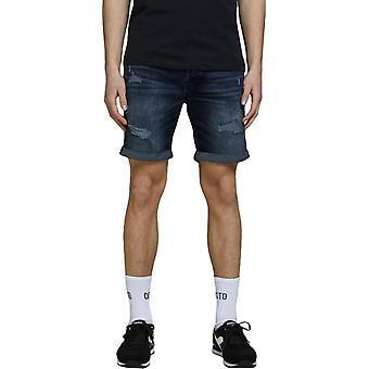 Jack & Jones Rick Original Regelmäßige Fit Denim Shorts Blau 03