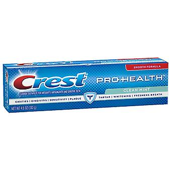 Crest pro-health toothpaste, clean mint, 4.6 oz