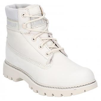 CAT Lifestyle Lyric Ladies Leather Ankle Boots Peyote