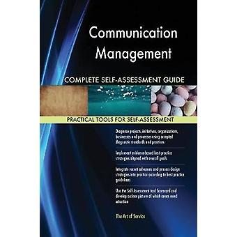 Communication Management Complete SelfAssessment Guide by Blokdyk & Gerardus