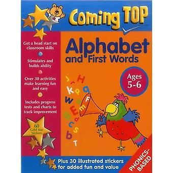Coming Top - Alphabet and First Words - Ages 5-6 - 60 Gold Star Sticker