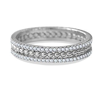 Ring Electra 18K Gold and Diamonds - White Gold