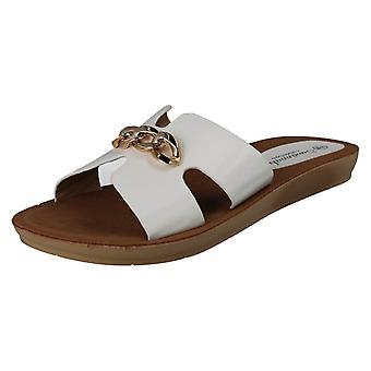Ladies Savannah Open Toe Casual Mules