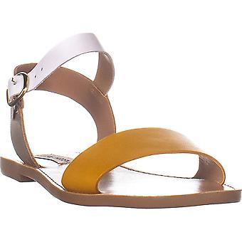Steve Madden Kvinner's DONDDI Sandal, Gul Multi, 10 M USA