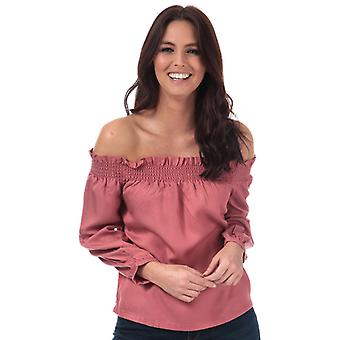 Women's Only Samantha Off Shoulder Top in Pink