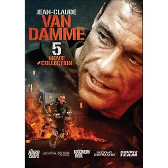 Jean-Claude Van Damme: 5 Movie Collection [DVD] USA import