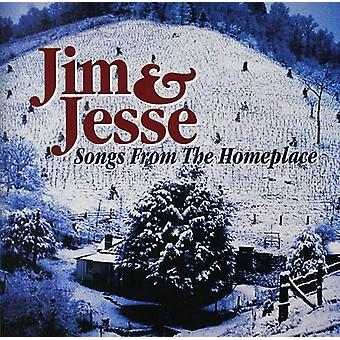 Jim & Jesse - Songs From the Homeplace [CD] USA import