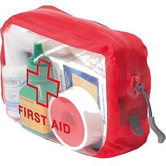 Exped Clear Cube First Aid Red - Red - Small