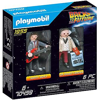 Playmobil 70459 Back To The Future Marty And Doc Emmet Brown