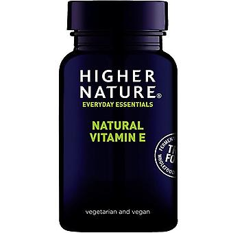 Higher Nature True Food Vitamin E Vegetable Capsules 180 (TE2180)