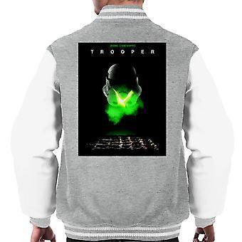 Original Stormtrooper Trooper Alien Parody For Light Men's Varsity Jacket