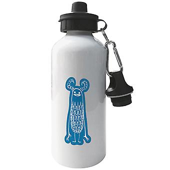 Blue Monster Design Concrete Genie Aluminium Sports Water Bottle