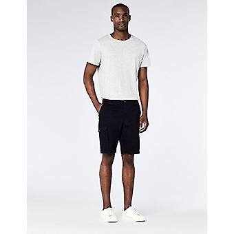 MERAKI Men's Cotton Cargo Shorts, Blue (Navy) EU XXL (US XL)