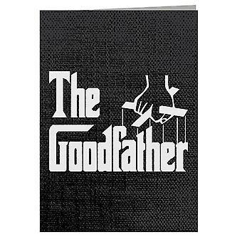 The Goodfather Godfather Greeting Card