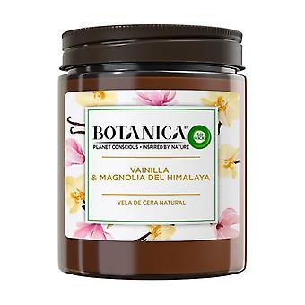 Vanilla Natural Wax and Himalayan Magnolia Aromatic Candle 1 unit