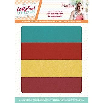 Crafter's Companion Crafty Fun A4 Luxury Glitter Card
