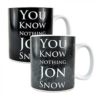 GOT  Jon Snow Heat Change Mug