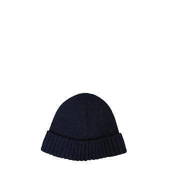 Barbour Mha0449ny31 Men's Blue Wool Hat