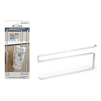 Kitchen Paper holder Confortime Metal White (26 Cm)