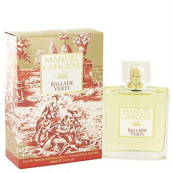 Ballade Verte Eau De Parfum Spray By Manuel Canovas