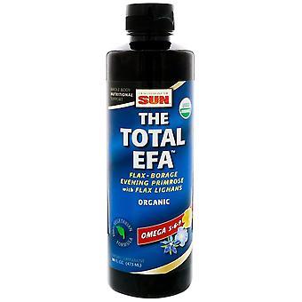 Health From The Sun, The Total EFA, Omega 3-6-9, 16 fl oz (473 ml)