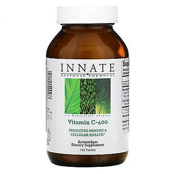 Innate Response Formulas, Vitamin C-400, 180 Tablets