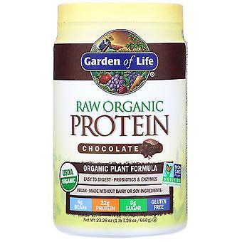 Garden of Life, RAW Organic Protein, Organic Plant Formula, Chocolate, 23.28 oz