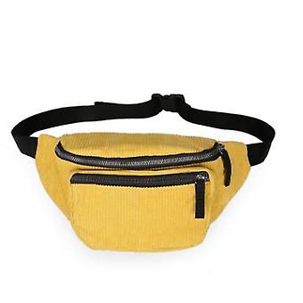 Trendy fashion retro small chest bag multi-function clutch