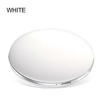 Led Light Mini Makeup Mirror - Compact Pocket Face Lip Travel Portable Lighting Mirror 3x Magnifying Foldable