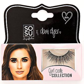 SOSU x Dani Dyer Girl Code Premium Valse Wimpers - Darlin - 3D Delicate Finish
