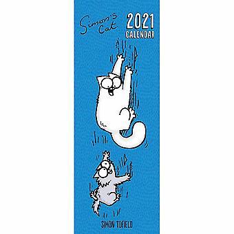 Otter House 2021 Slim Calendar-simons Cat